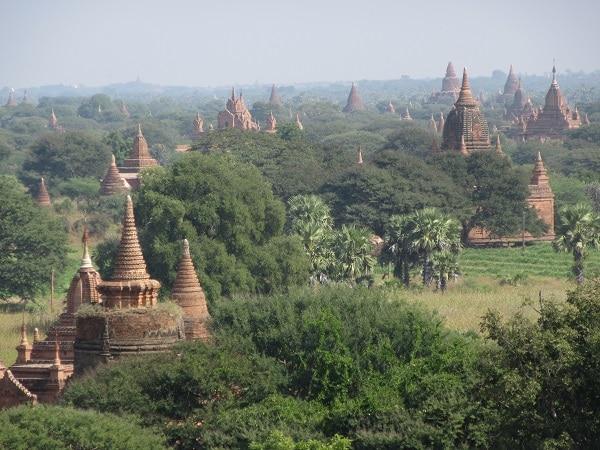 Images from Bagan, Myanmar