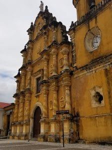 church in yellow
