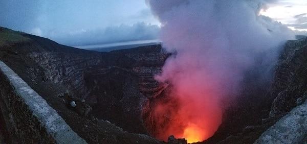 Granada, Nicaragua — Volcano, Volcano, Volcano