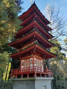 Pagoda in Japanese Tea Garden