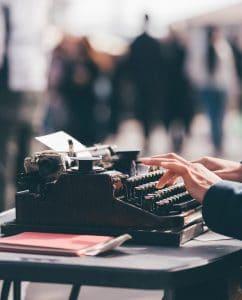 Typewriter by Milkovi